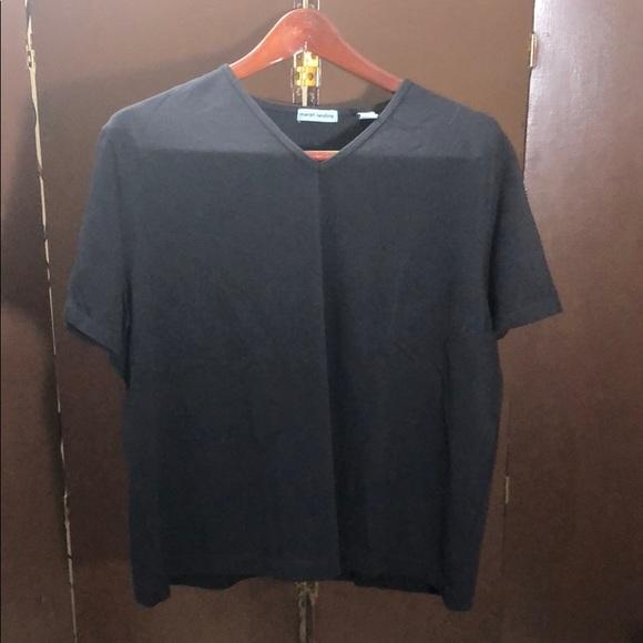 Marsh Landing short sleeve V-neck tee size XL